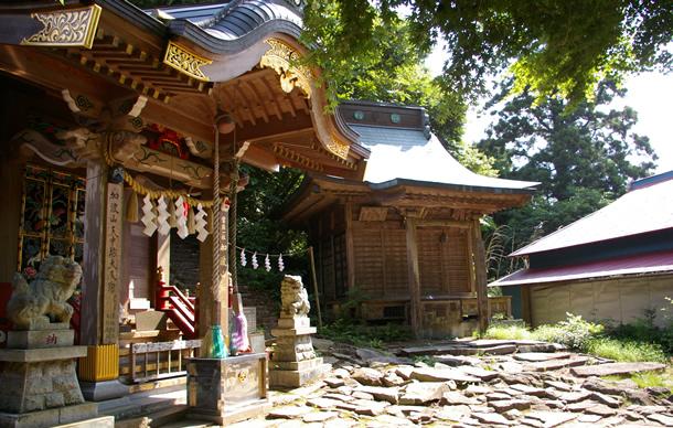 画像:加波山神社