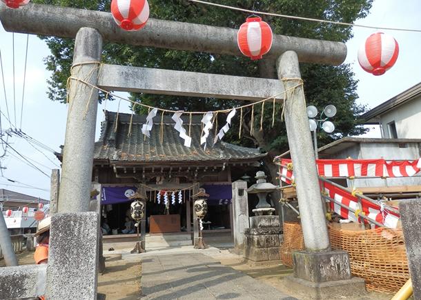 画像:柿岡八坂神社