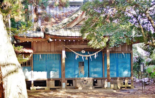 画像:根小屋七代天神社