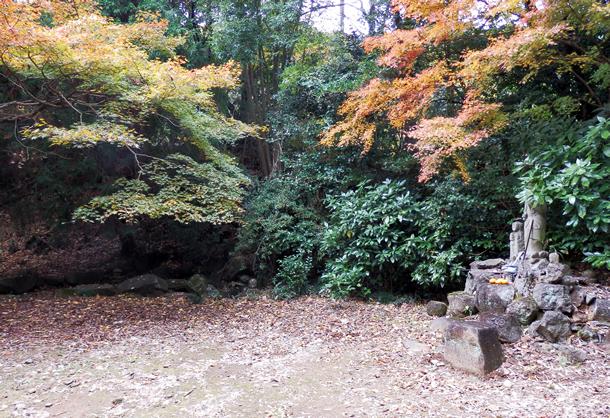 画像:十三塚北面薬師跡(山寺跡)
