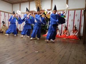 『柿岡八幡宮太々神楽 (八幡神社)04』の画像