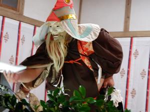 画像:柿岡八幡宮太々神楽 (八幡神社)06