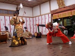 画像:柿岡八幡宮太々神楽 (八幡神社)10