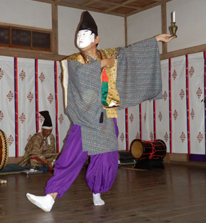 画像:柿岡八幡宮太々神楽 (八幡神社)11