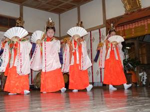 画像:柿岡八幡宮太々神楽 (八幡神社)14