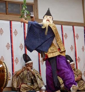 画像:柿岡八幡宮太々神楽 (八幡神社)15
