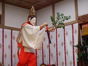 画像:柿岡八幡宮太々神楽 (八幡神社)16