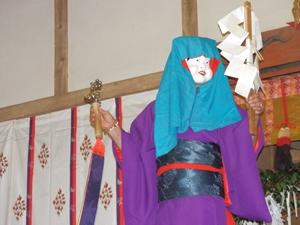 画像:柿岡八幡宮太々神楽 (八幡神社)13