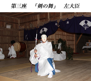 画像:根小屋七代天神社 代々神楽05