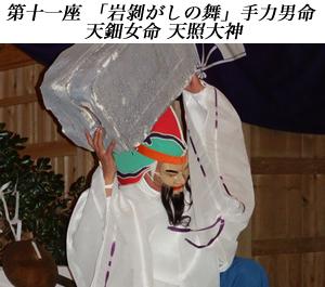 画像:根小屋七代天神社 代々神楽10