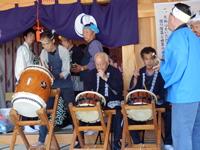 画像:片野八幡神社祇園祭と排禍ばやし01