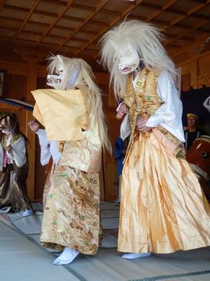 画像:片野八幡神社祇園祭と排禍ばやし06