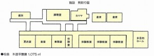 画像:校舎平面図
