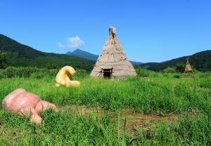 『H25観光部門入選「草原アート」』の画像