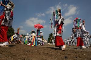 『H25おまつり部門観光協会長賞「炎天の舞」』の画像