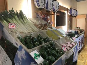 『PRブース写真 野菜』の画像